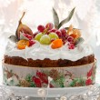 Royalty-Free Stock Photo: Christmas cake