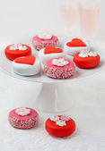 Petit fours for holiday — Stock Photo