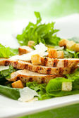 Chicken Caesar salad — Stock Photo