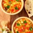 Minestrone soup — Stock Photo #7874968