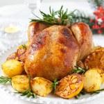 Roast chicken — Stock Photo #7883905