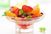Deser owocowy — Zdjęcie stockowe