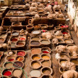 Morocco, Fez, Tannery  - Stock Photo