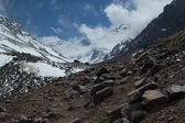Morocco, Mountain of Toubkal — Stock Photo