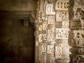 Qutab Minar columns — Stock Photo