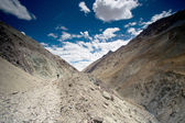 Trekking in India Leh, Marhka Valley trip — Stock Photo