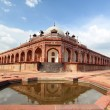 Humayun's Tomb New Delhi tourist destination — Stock Photo