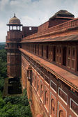 Agra forte defence wall, Agra, India — Stock Photo