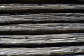 Chapas de madera horizontales — Foto de Stock