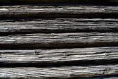 Fasquias horizontais de madeira — Fotografia Stock