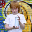 Graffiti boy — Stock Photo #7803375