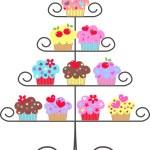 Cupcakes — Stock Vector #7787120