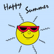 Stockvector : Happy summer
