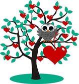 Valentines day or happy birthday — Stock Vector