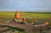 Sacred Khor Virap Monastery in Armenia — Stock Photo