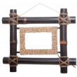 Bamboo frame for photo — Stock Photo #7665637