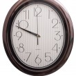 Stock Photo: Wall clock oval