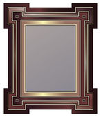 Old Picture Frame — Stock Vector