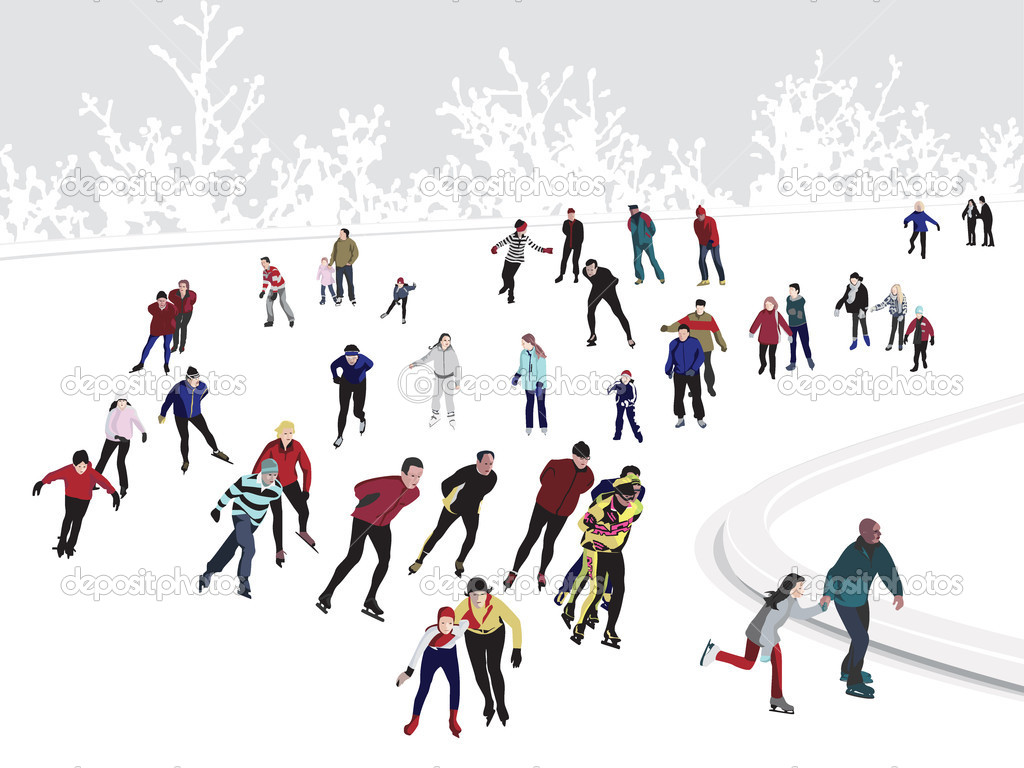 ice skating stock vector  u00a9 zarja 7932303 ice skating clipart black and white figure skating clipart png