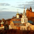 Stock Photo: Church of Elijah Prophet and Kremlin. Nizhny Novgorod, Russi