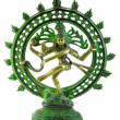 Statue of Shiva Lord of Dance on white background — Stock Photo #7898422