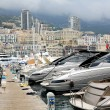 Stock Photo: One of piers in Monaco, Monte Carlo