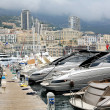 One of the piers in Monaco, Monte Carlo - Stock Photo