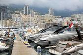 One of the piers in Monaco, Monte Carlo — Stock Photo