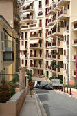 One of the street Monaco, Monte Carlo — Stock Photo