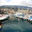 Scenic view of Monaco harbor, Monte Carlo — Stock Photo