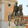 Stock Photo: EquestriStatue of Marcus Aurelius. Rome, Italy