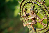 Statue of Shiva - Lord of Dance at sunlight — Stock Photo