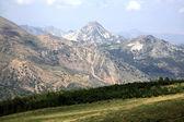 Montaña en el parque sierra nevada en españa — Foto de Stock