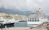 Monaco harbour, monte carlo — Stok fotoğraf