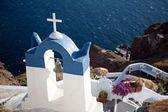 Greece chapel — Stock Photo