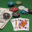 Casino gambling chips — Stock Photo #7769077