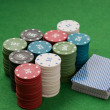 Casino gambling chips — Stock Photo #7769092