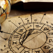 Ancient Horoscope — Stock Photo