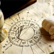 Stock Photo: Horoscope and Witchcraft