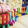 Birthday decoration — Stock Photo