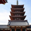 Japanese Pagoda — Stock Photo