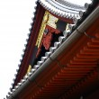 Roof of Japanese Shrine — Stock Photo