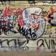 Foto de Stock  : Graffiti on wall