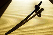 Japanische katana schwert — Stockfoto