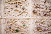Climbing Wall Closeup — Stock Photo