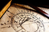 Traditional Horoscope — Stockfoto