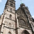 Lorenzkirche Cathedral — Stock Photo #7874393