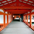 Itsukoshima Shrine in Miyajima, Japan — Stock Photo
