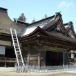 Stock Photo: Early Spring in Japanese Temple