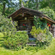 Small log cabin - Stock Photo